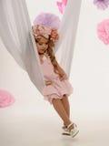 Charmig liten flicka royaltyfri fotografi
