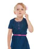 Charmig liten flicka Royaltyfri Bild
