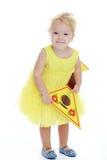 Charmig liten flicka Royaltyfri Foto