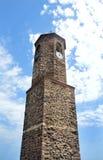 Charmig liten medeltida stad Castelsardo i Sardinia arkivfoton