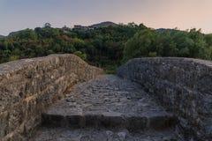 Charmig natur av Montenegro i Augusti Arkivfoto