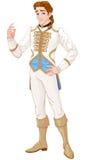 charmig prince stock illustrationer
