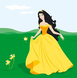 charmig princess Royaltyfria Bilder