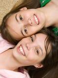charmiga flickor Fotografering för Bildbyråer