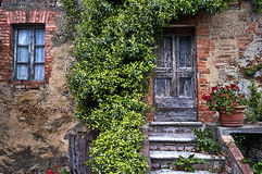 charmigt hus Arkivbild