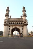Charminar. Early morning direct view of Charminar, Hyderabad, India Royalty Free Stock Photography