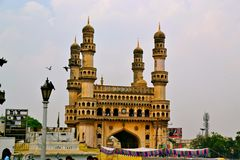Charminar de Hyderabad Foto de archivo