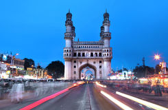 Charminar in Hyderabad Royalty Free Stock Photography