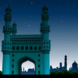 Charminar, hyderabad, india Royalty Free Stock Photo
