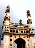 Charminar, hyderabad, india. This is one of the four minarets of Charminar, which is built 400 years ago and located in the centre of the city, hyderabad, india Stock Photos