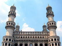 charminar hyderabad india Arkivfoto