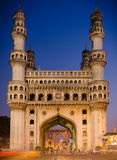 Charminar Hyderabad, India. A view of the icon builiding of Hyderabad - Charminar royalty free stock photos
