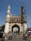 Charminar Hyderabad Indien stockfotos