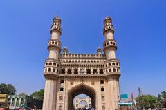 Charminar, Hyderabad, Indien Stockbild
