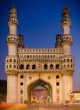 Charminar Hyderabad, Indien royaltyfria foton