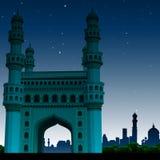 Charminar, Hyderabad, la India libre illustration