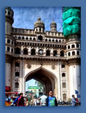 Charminar at Hyderabad Royalty Free Stock Images