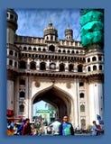 Charminar på Hyderabad Royaltyfria Bilder