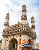 The Charminar tower in the city of Hyderabad, India Royalty Free Stock Image