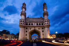 The Charminar at twilight Royalty Free Stock Images