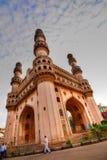 Charminaren på Hyderabad Royaltyfri Fotografi