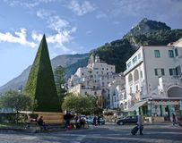 Charming Amalfi Stock Photography