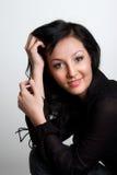 Charming asian girl stock photos
