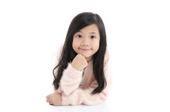 Charming asian girl Smile face close up Stock Photography