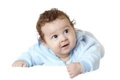 Charming baby. Royalty Free Stock Photography
