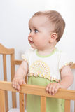 Charming baby indoor Stock Photography
