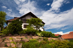 Charming Bavarian house Royalty Free Stock Image