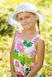 Charming blonde girl Royalty Free Stock Photos