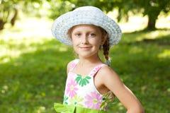 Charming blue-eyed girl Stock Photo