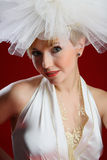 The charming bride Royalty Free Stock Photography