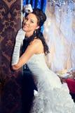 Charming bride Stock Photos