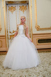 Charming bride blonde Royalty Free Stock Photos