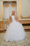 Charming bride blonde Royalty Free Stock Photo