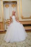 Charming bride blonde Royalty Free Stock Photo