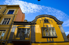 A charming building  in the old centre of Sofia , Stock Photo