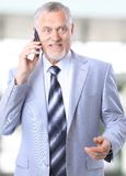Charming business man Royalty Free Stock Images