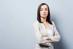 Charming businesswoman. Stock Photography