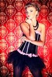 Charming cabaret Stock Photography