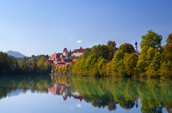 Charming castle in Fussen Royalty Free Stock Photography