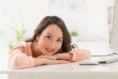 Charming Chinese woman Stock Photography