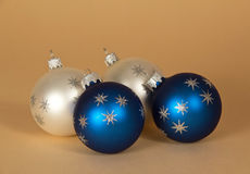 Charming Christmas spheres Royalty Free Stock Photography