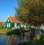 Charming cites of North Holland royalty free stock photography