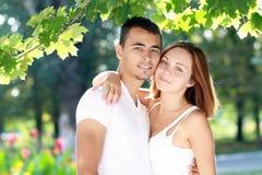 Charming couple Stock Photos