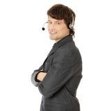 Charming customer service representative Stock Photography
