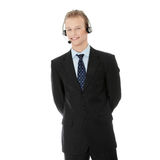Charming customer service representative Royalty Free Stock Images