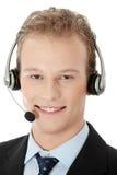 Charming customer service representative Stock Photos